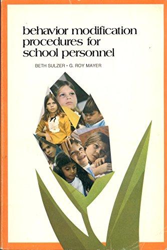 9780030890291: Behavioural Modification Procedures for School Personnel