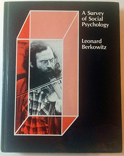 9780030890734: Survey of Social Psychology