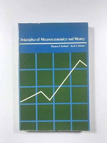 9780030891434: Principles of Macroeconomics and Money