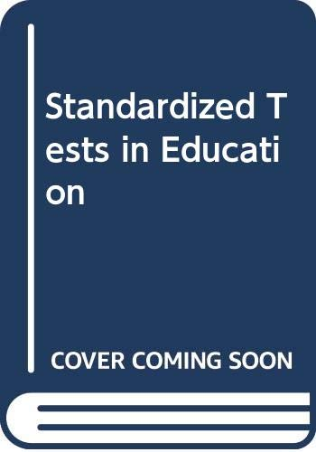9780030892233: Standardized Tests in Education