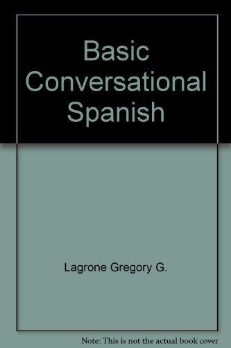 9780030892509: Basic conversational Spanish - AbeBooks