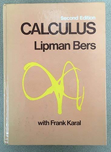 Calculus: Lipman Bers; Frank