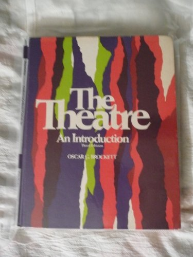 9780030894435: The Theatre: An Introduction
