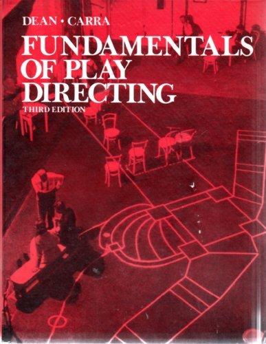 9780030894459: Fundamentals of Play Directing