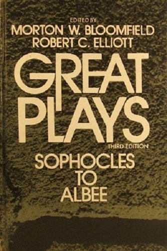 9780030894640: Great Plays: Sophocles to Albee