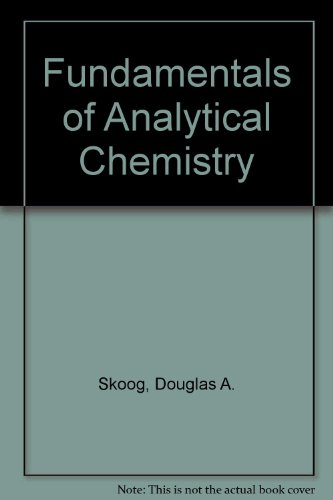 9780030894954: Fundamentals of Analytical Chemistry