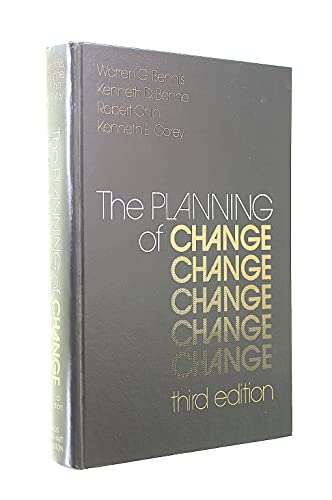 9780030895180: The Planning of Change