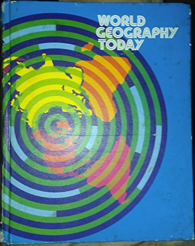 9780030895210: World Geography Today