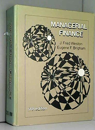 9780030895265: Managerial finance