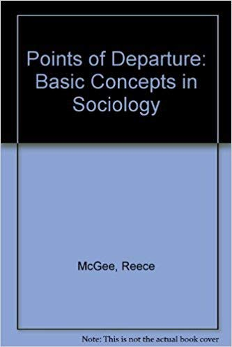9780030895296: Points of Departure: Basic Concepts in Sociology