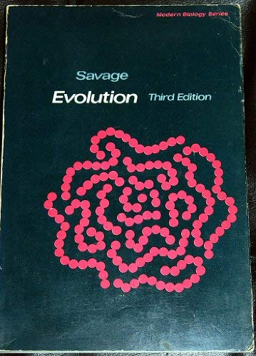 9780030895364: Evolution (Modern biology series)