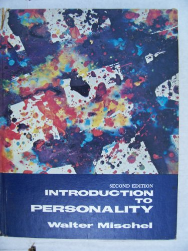 9780030895371: Introduction to personality