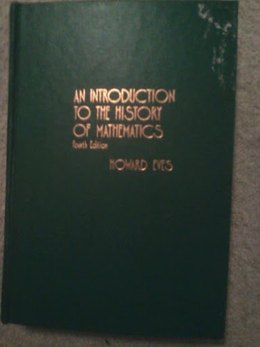 9780030895395: An Introduction to the History of Mathematics
