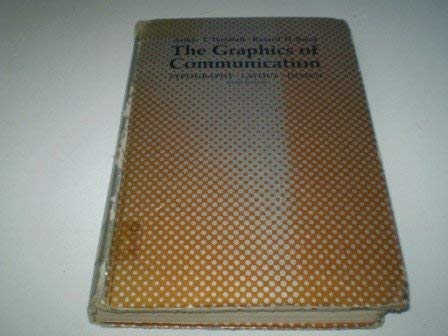 9780030895807: Graphics of Communication: Typography, Layout, Design, Production