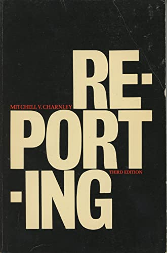 Reporting: Charnley, M.V.