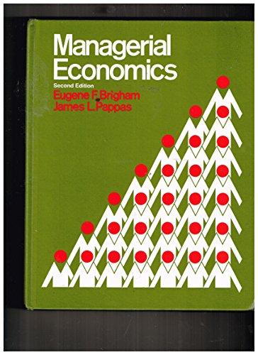 9780030896965: Managerial Economics