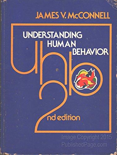 9780030897153: Understanding Human Behaviour: An Introduction to Psychology