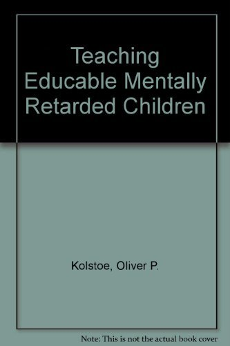 9780030897245: Teaching Educable Mentally Retarded Children