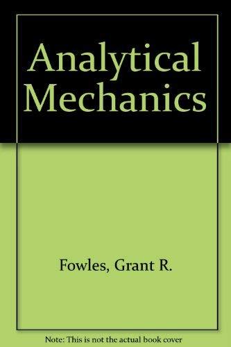 9780030897252: Analytical Mechanics