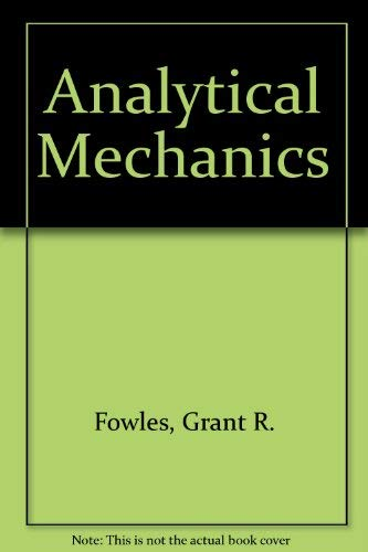 9780030897252: Analytical Mechanics