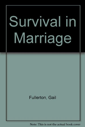 9780030897481: Survival in Marriage