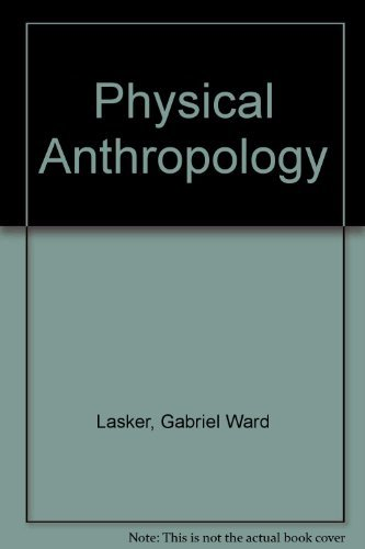 9780030897573: Physical Anthropology