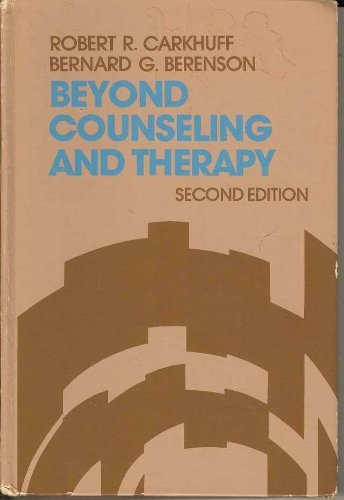 9780030898129: Beyond Counselling and Therapy