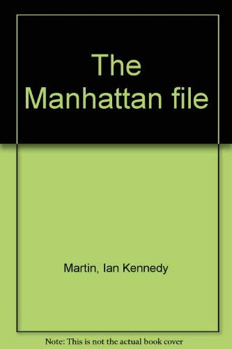 9780030898150: The Manhattan file
