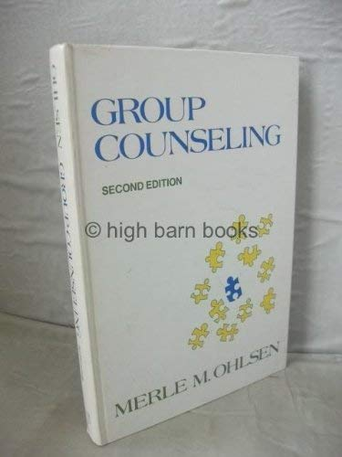 9780030898488: Group Counselling