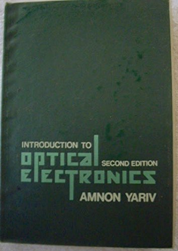 9780030898921: Introduction to Optical Electronics