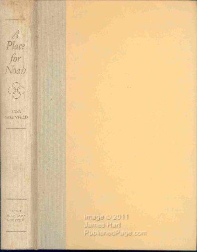 9780030898969: A Place for Noah