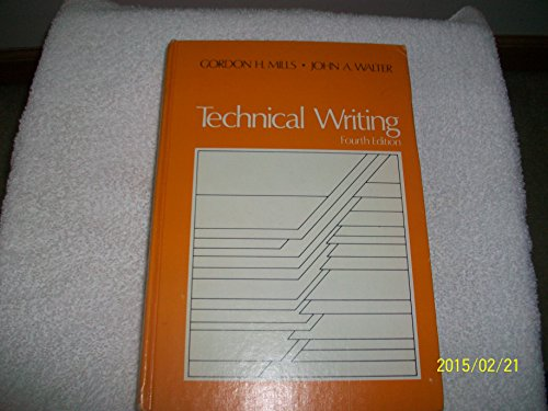 9780030899058: Technical Writing