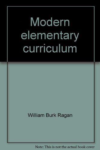 9780030899348: Modern elementary curriculum