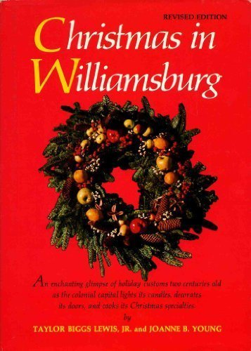 9780030899454: Christmas in Williamsburg