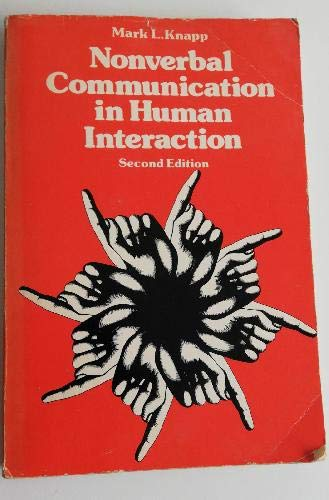 9780030899621: Nonverbal Communication in Human Interaction