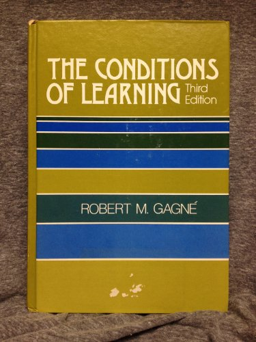 9780030899652: Conditions of Learning