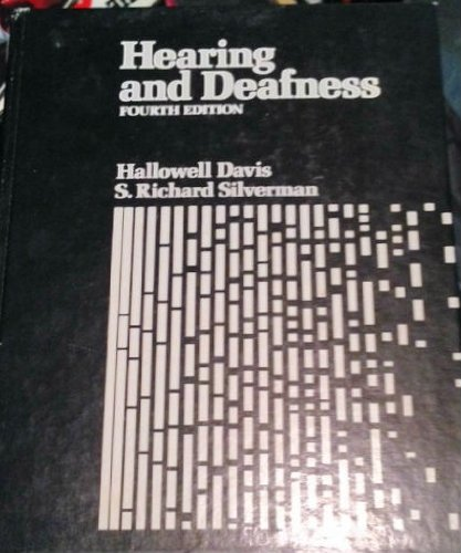 9780030899805: Hearing and Deafness