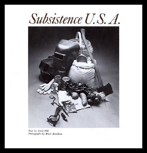 9780030912238: Subsistence U.S.A.