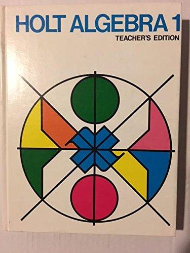 9780030913204: Holt algebra 1