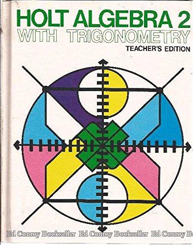 9780030913266: Holt Algebra 2 Teacher's Edition