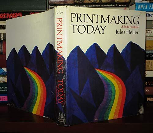 9780030914034: Printmaking Today, a Studio Handbook.