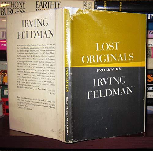 9780030914645: Lost originals; poems
