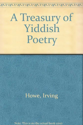 9780030914805: A Treasury of Yiddish Poetry