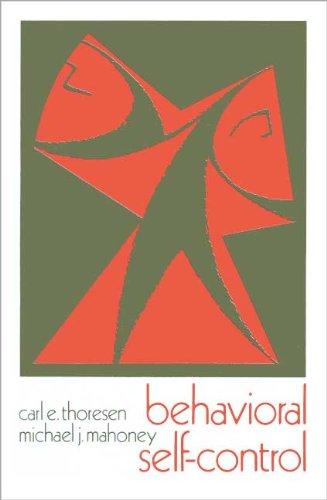9780030915222: Behavioural Self-control
