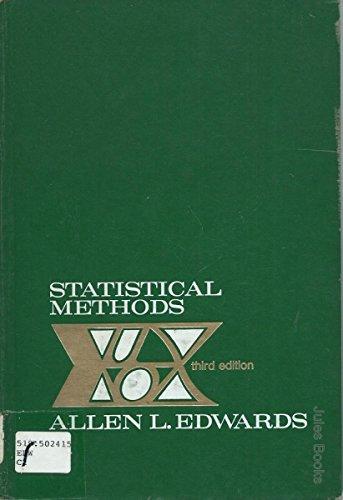 9780030918803: Statistical Methods
