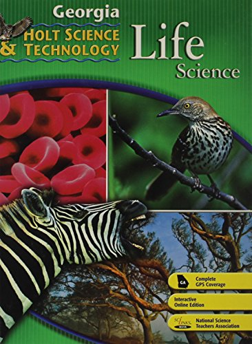 9780030920257: Holt Science & Technology: Life, Earth, and Physical Georgia: Student Edition Life 2008