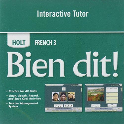 9780030920417: Bien Dit 3: Interactive Tutor