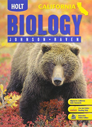 9780030922015: Holt Biology California: ìStudent Edition 2007
