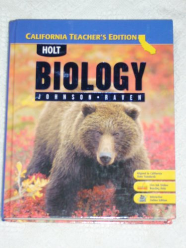 9780030922022: Biology (California Teacher's Edition)