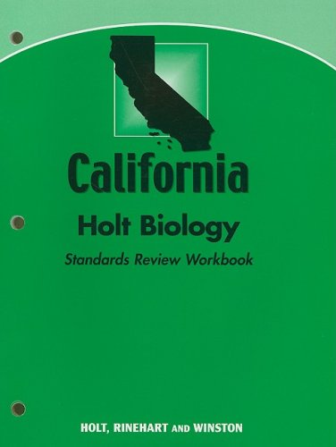 9780030922039: Holt Biology California: Holt Science: Standards Review Workbook